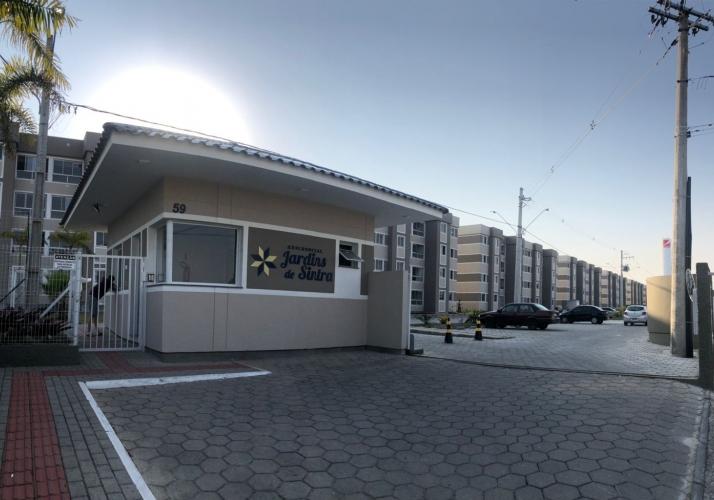 Apartamento no bairro Forquilhas em São José